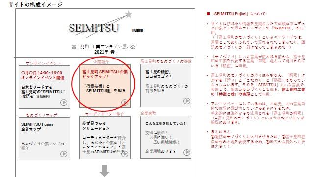 富士見町製造業オンライン展示会出展者募集のお知らせ