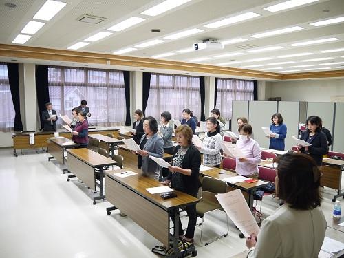 女性部の通常総会が開催されました