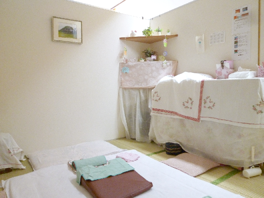 小さな整体室